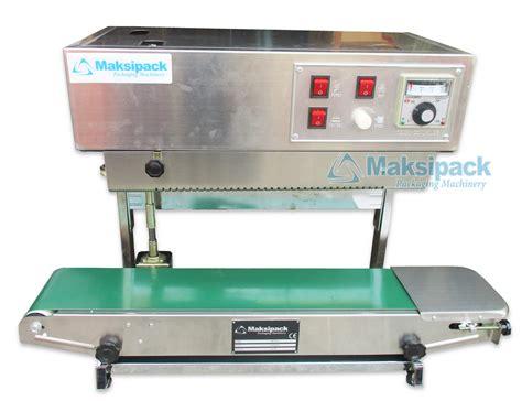 Continuous Band Sealer Fr 900 Mesin Sealer Plastik Fr 900s mesin continuous sealer fr 900lw toko mesin maksindo
