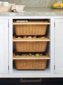 Kitchen Cabinets Baskets Bhg Centsational Style