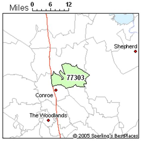 conroe texas zip code map best place to live in conroe zip 77303 texas