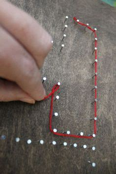 String Name Tutorial - 517 creations quot a beautiful mess quot string cross
