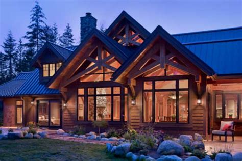 washington state house all natural timber home in washington state