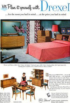 1960s drexel perspective dining room furniture ad midcentury furniture on pinterest george nelson hans