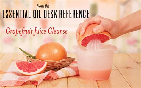 The Essential Oils Desk Reference by From The Essential Oils Desk Reference Grapefruit Juice