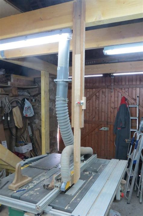 table saw dust collection woodnet forums arm support help dust collection knives woodworking and