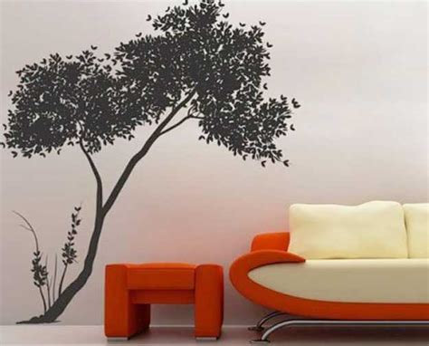 modern interior decorating ideas incorporating tree