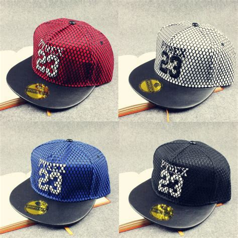 Trucker Snapback Baseball 23 Tisha Store new fashion bons gorras snapback truckfit 23 mesh hip hop