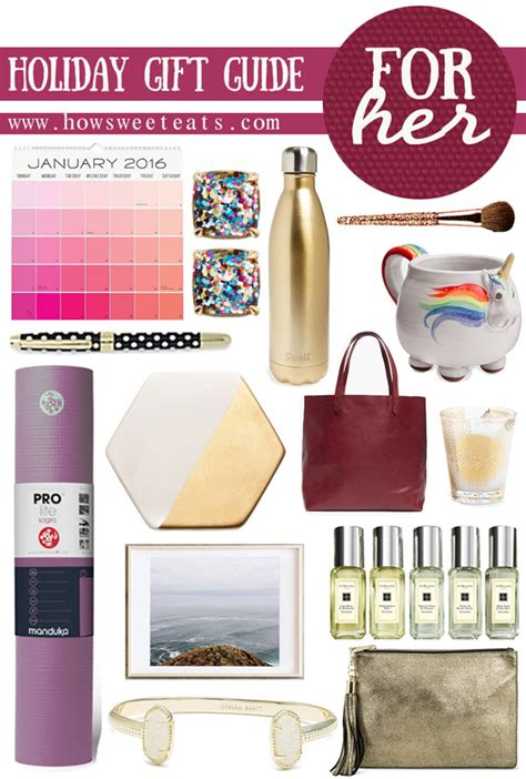 christmas gift guide for her holiday gift guide for her how sweet it is