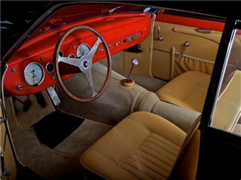 maserati a6gcs interior 1954 maserati a6g zagato studios