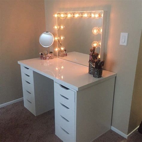 makeup table with alex drawers 883 best makeup organization vanity images on