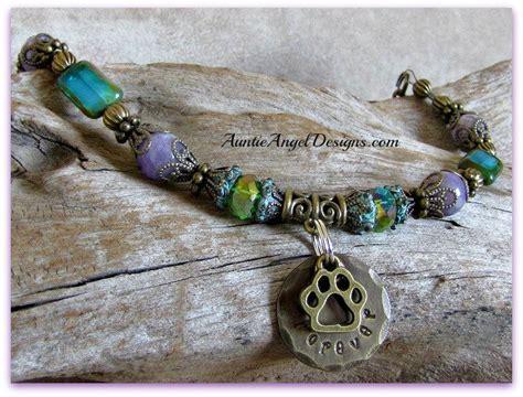 in loving memory pet memorial bracelet engraved pet lover