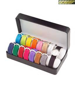 Silver Gift Items India Gossip Interchangeable Straps Watch Price In India Buy