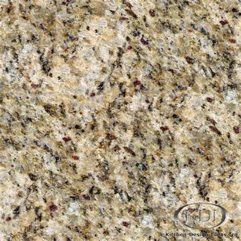 Santa Cecilia Granite Countertops by Gold Granite Kitchen Countertop Ideas