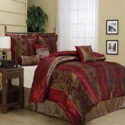 Burgundy Comforter Rosemonde Burgundy 7 Piece Comforter Set Free Shipping