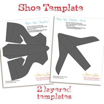 paper shoe template wizard of oz pinterest