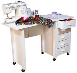 Folding Sewing Machine Table Mobile Folding Desk Sewing Machine Craft Table Home Sewing Table With Wheel New Ebay