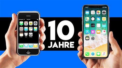 iphone x vs iphone 1 das hat sich in den letzten 10 jahren ge 228 ndert