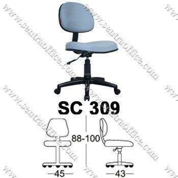 jual kursi staff sekretaris chairman sc 309 murah