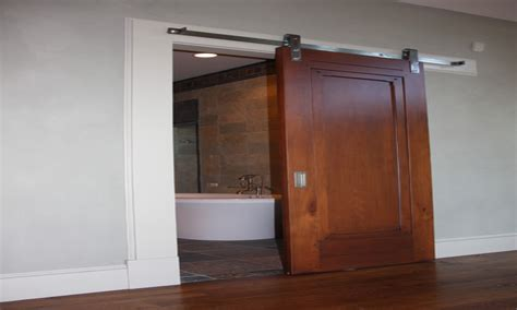 Hanging Barn Door Interior Sliding Barn Door Bathroom Interior Barn Doors For Homes