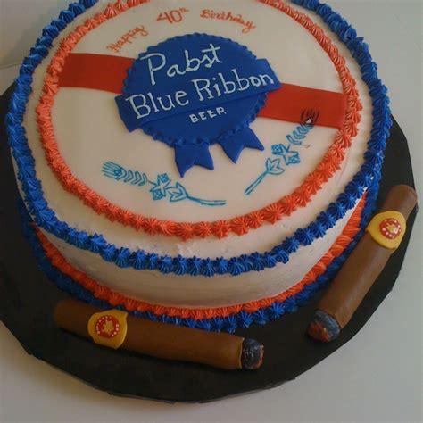 Blue Ribbon Cake Decorating by Pabst Blue Ribbon Cuban Cigars Cake By Crumby Www Crumbyart Original