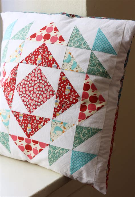 Everyday Celebrations Simple Patchwork Pillows Free Pattern - 37 quilted gift ideas you can make for just about anyone