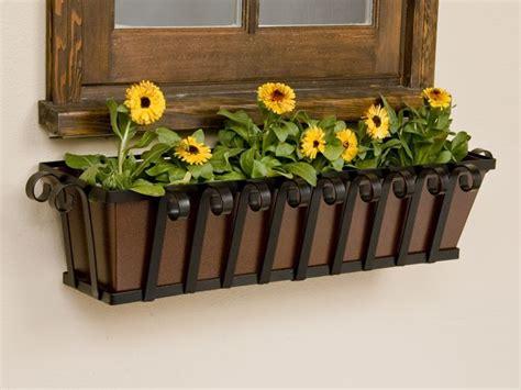 Iron Window Box Planters by Iron Flower Boxes Iron Window Box Windowbox