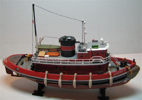 tugboat lucky xi портовый буксир lucky xi каропка ру стендовые модели