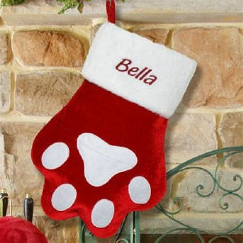 personalized christmas stockings pet christmas stockings