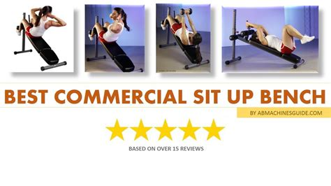commercial sit up bench commercial adjustable sit up bench on great price youtube