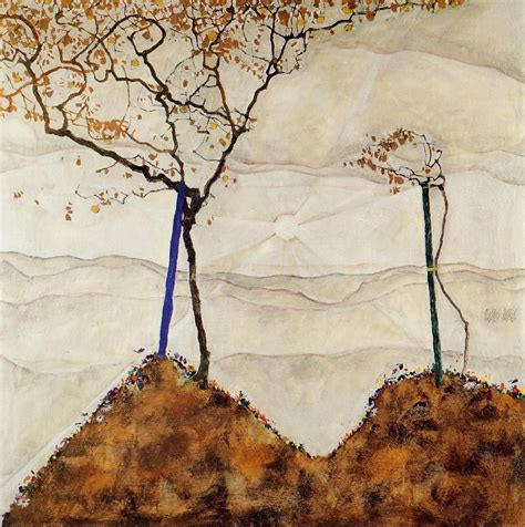 Autumn Sun Artist Egon Schiele Completion Date 1912