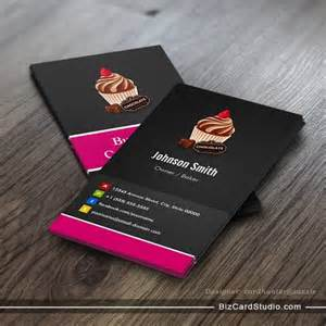 visiting card for chocolate business business card templates studio