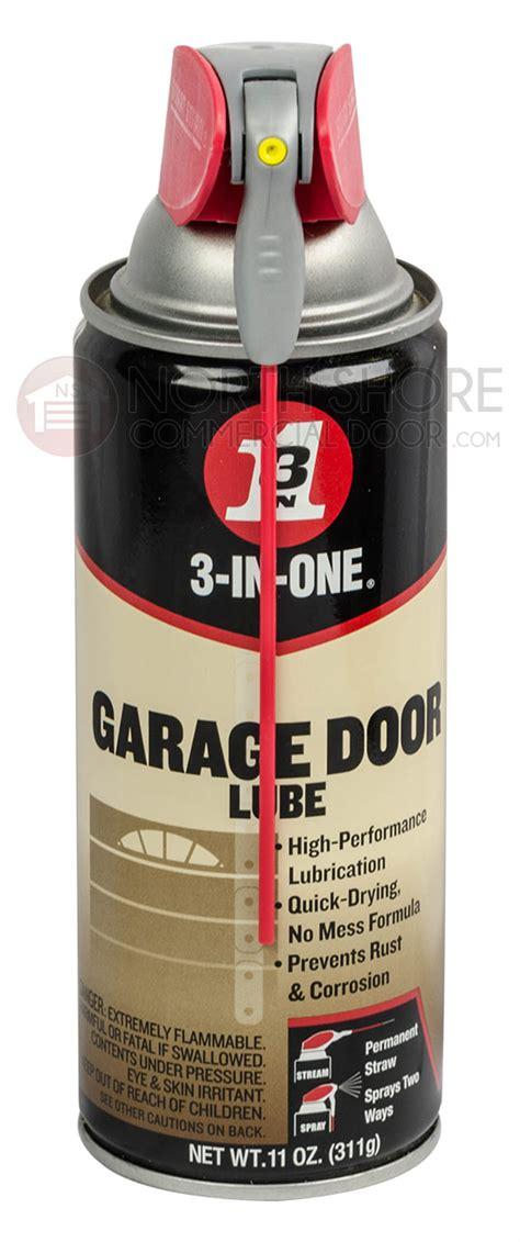 Gate And Garage Door 3 In One Dry Lube 3 In One Garage Door Lube