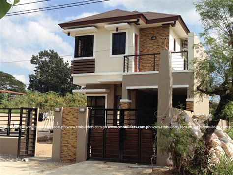 philippines simple house design simple two story house plans philippines