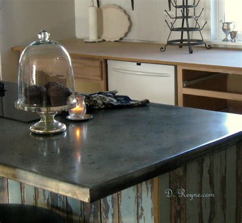 best 25 zinc countertops ideas on metal