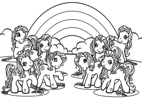 my little pony castle coloring page my little pony with rainbow background coloring page my