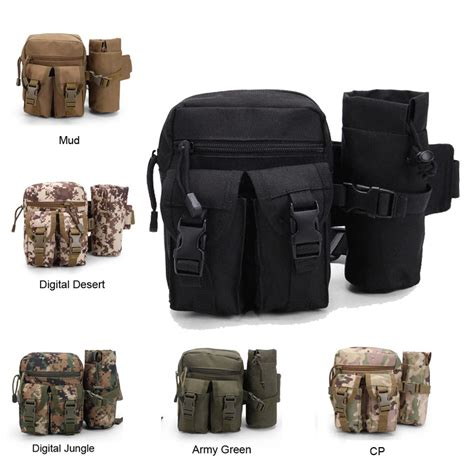My Botle Pouch Bag Tactical Molle Bag Outdoor Travel Sport Bag