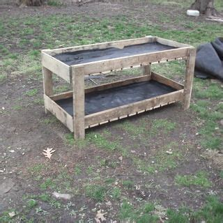 pallet flower bed pallet double flower bed plants and flowers pinterest
