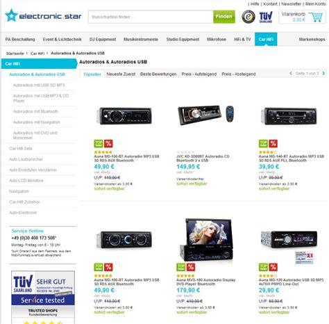 Auto Online Kauf by 187 Wo Autoradio Auf Rechnung Online Kaufen Bestellen