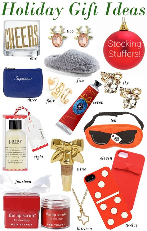 holiday gift ideas stocking stuffers by lynny