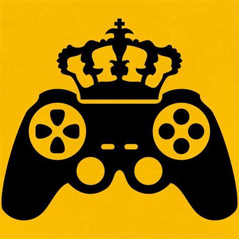 Hoodie Sweater Gamer Controller Black Front Logo gamer king crown true controller logo king 8 bit t shirt spreadshirt