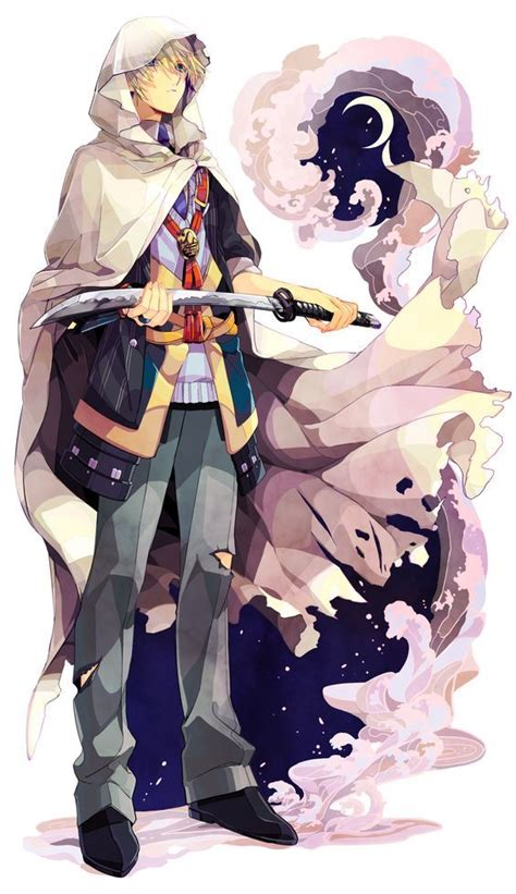 B Anime Characters by Tags Png Conversion Pixiv Id 2841046 Touken Ranbu