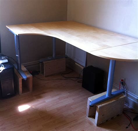 Turn Desk Into Standing Desk by Turn Desk Into Standing Desk
