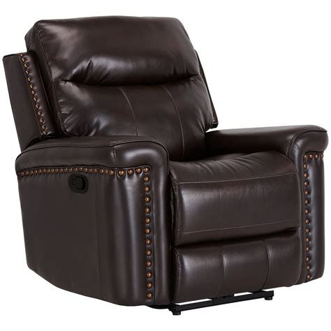 microfiber glider recliner city furniture wallace dark brown microfiber glider recliner