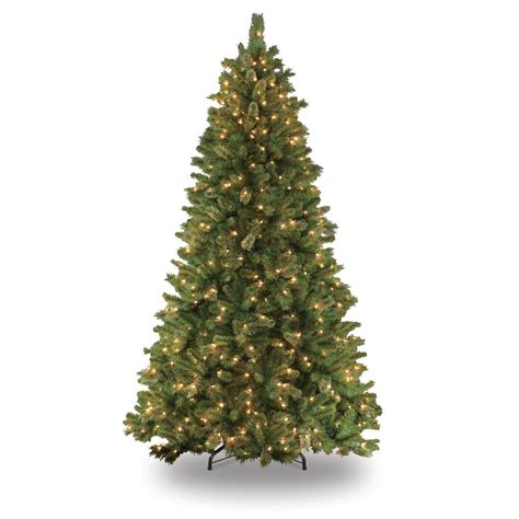 ge 75 ft pre lit alaskan fir flocked artificial christmas tree with 600 color changing warm white led lights ge 7 5 ft just cut noble fir ez light artificial tree with 800 color choice led