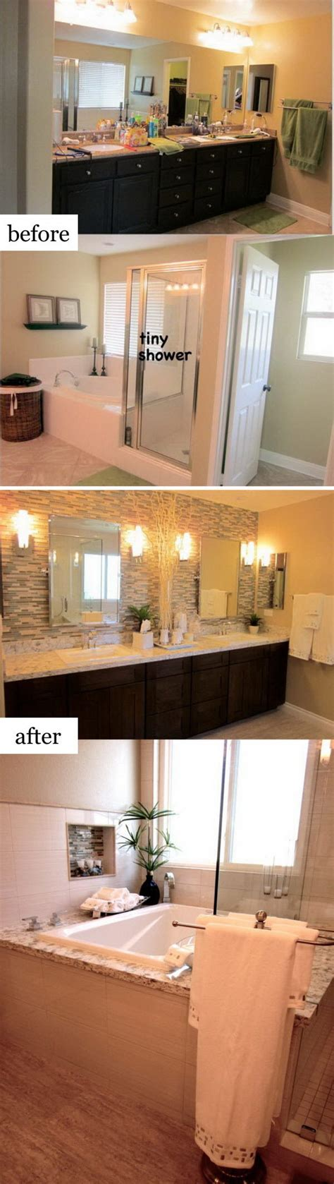 bathroom remodeling ideas before and after before and after makeovers 30 awesome bathroom