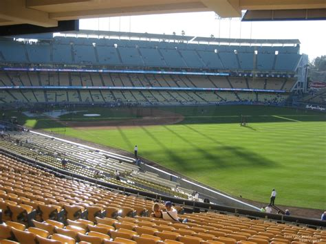 section 162 a dodger stadium section 162 rateyourseats com
