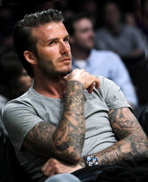 david beckham cross tattoo david beckham tattoos weneedfun