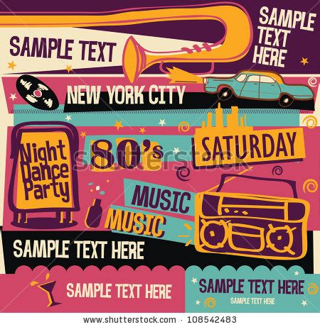 retro 80s party 80s music stock photos images pictures shutterstock