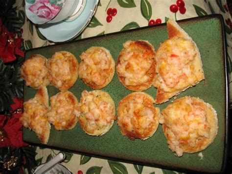 shrimp canape recipe angies shrimp canapes recipe food com
