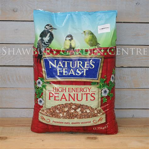 nature s feast bird food peanuts