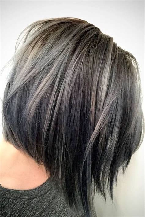 black lowlights in white gray hair best 25 silver hair highlights ideas on pinterest gray